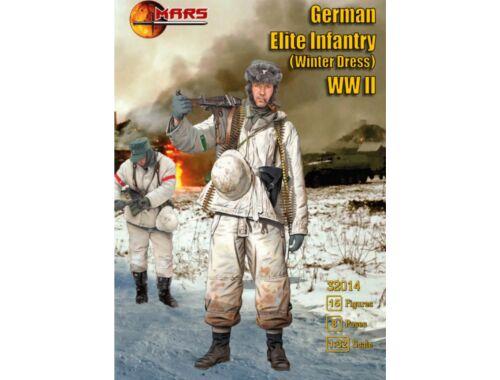 Mars German Elite Infantry (winter dress) WWI 1:32 (32014)