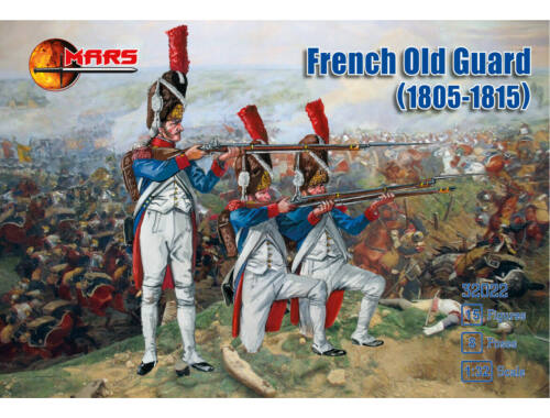 Mars French old guard (1805-1815). 1:32 (32022)
