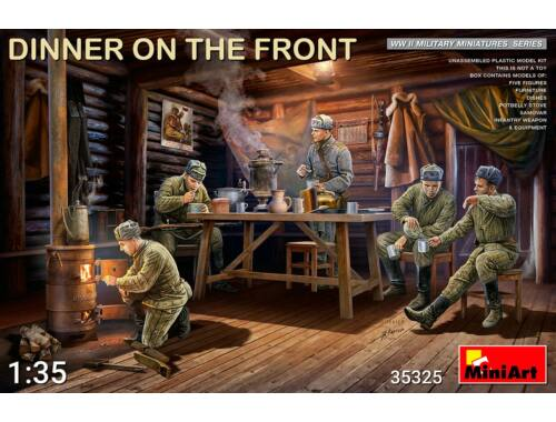 MiniArt Dinner on the Front 1:35 (35325)