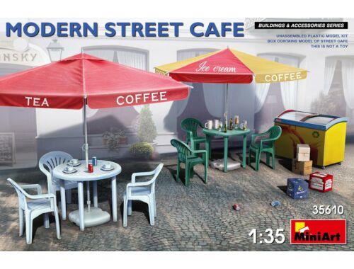 MiniArt Modern Street Cafe 1:35 (35610)