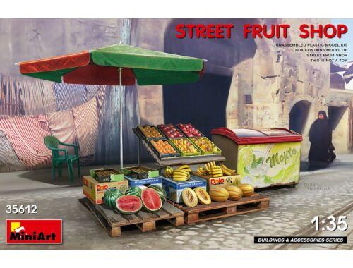 MiniArt Street Fruit Shop 1:35 (35612)