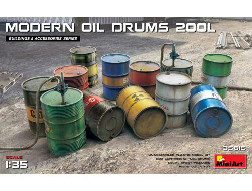 MiniArt Modern Oil Drums (200l) 1:35 (35615)