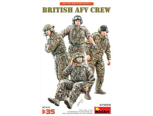 MiniArt British AFV Crew 1:35 (37059)