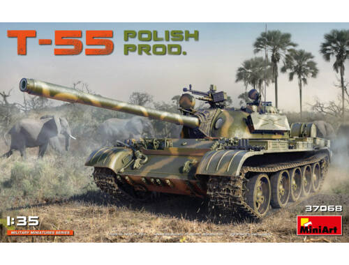 MiniArt T-55 Polish Prod. 1:35 (37068)