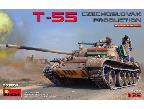 MiniArt T-55 Czechoslovak Prod. 1:35 (37074)