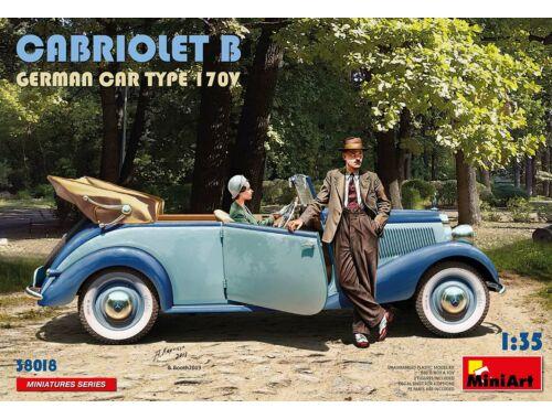 MiniArt Cabriolet B German Car Type 170V 1:35 (38018)