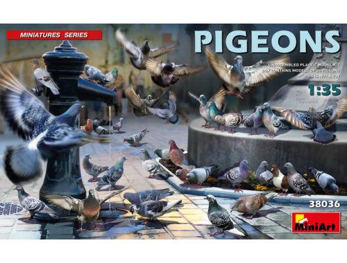 MiniArt Pigeons 1:35 (38036)