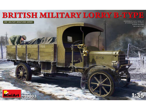 MiniArt British Military Lorry B-Type 1:35 (39003)