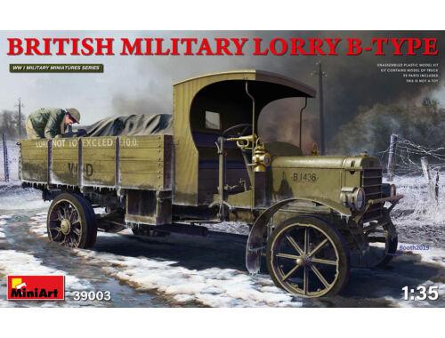 MiniArt British Military Lorry B-Type 1:35 (39003)