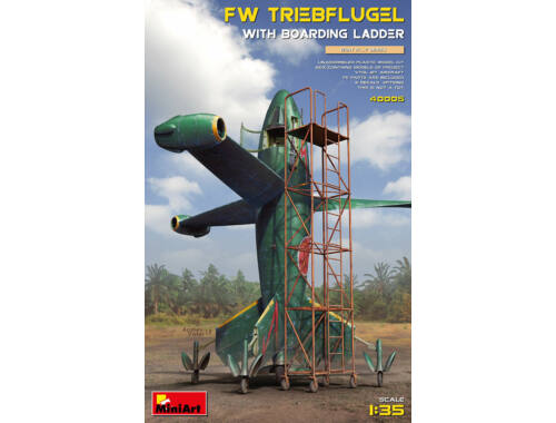 MiniArt Focke Wulf Triebflugel with Boarding Ladder 1:35 (40005)