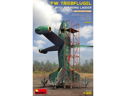 MiniArt Focke Wulf Triebflugel with Boarding Ladder 1:35 (40005)