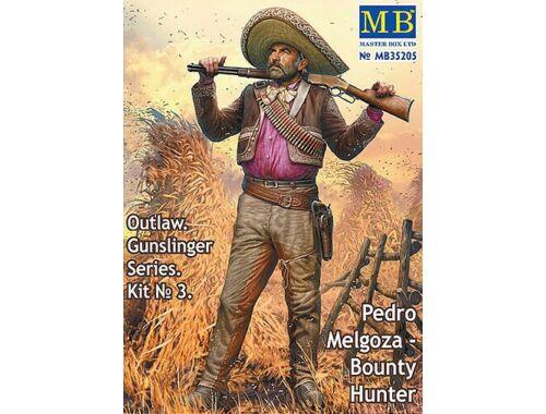 Master Box Outlow. Gunslinger Kit No.3. Pedro Melgoza - Bounty Hunter 1:35 (35205)