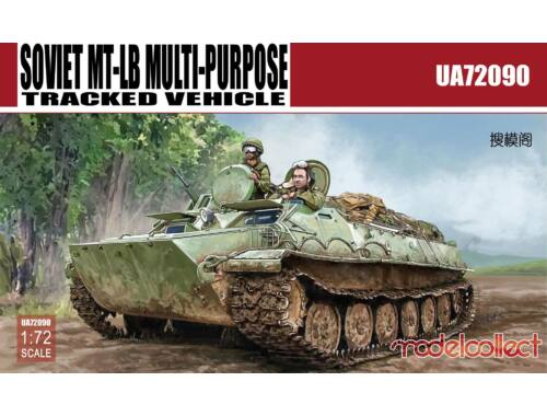 Modelcollect Soviet MT-LB MULTI-PURPOSE Tracked Vehicle 1:72 (UA72090)