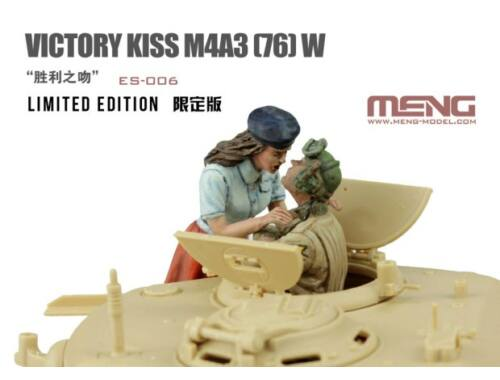 MENG Victory Kiss M4A3 (76) W Limited Edition 1:35 (ES-006)