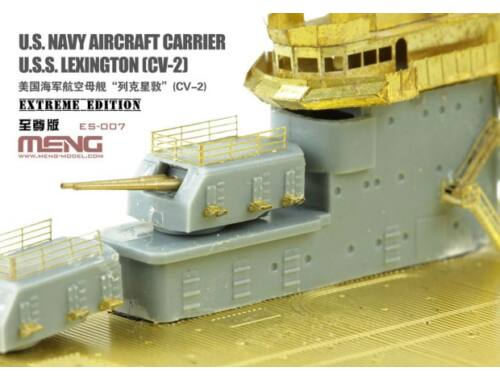 MENG U.S. Navy Aircraft Carrier U.S.S. Lexington (Cv-2) Extreme Edition 1:700 (ES-007)