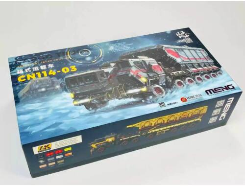 MENG The Wandering Earth Cargo Truck-Transport Truck CN114-03 1:100 (MMS-001)