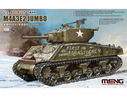 MENG U.S. Assault Tank M4A3E2 Jumbo 1:35 (TS-045)