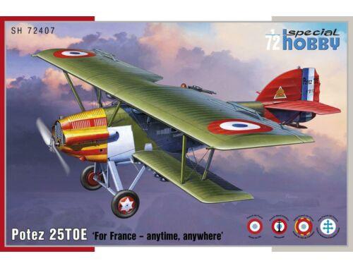 Special Hobby Potez 25 TOE 1:72 (72407)