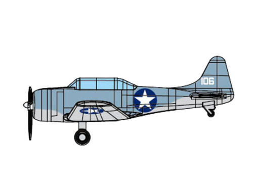 Trumpeter SBD-3 DAUNTLESS 1:350 (6404)