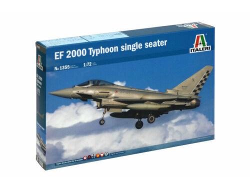 Italeri EF-2000 Typhoon Single Seater 1:72 (1355)