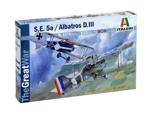 Italeri S.E. 5a / Albatros D.III 1:72 (1374)