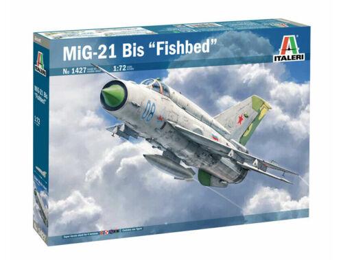 Italeri MiG-21 Bis Fishbed 1:72 (1427)