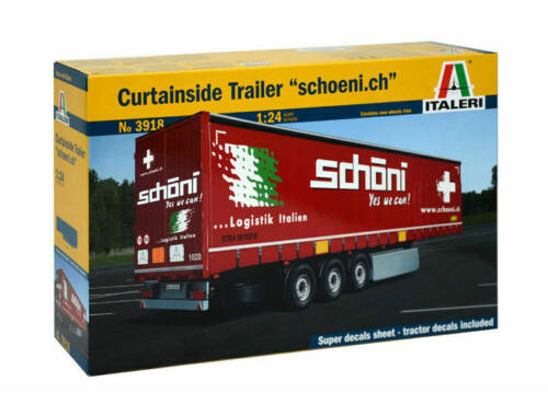 Italeri Curtainside Trailer schoeni.ch 1:24 (3918)