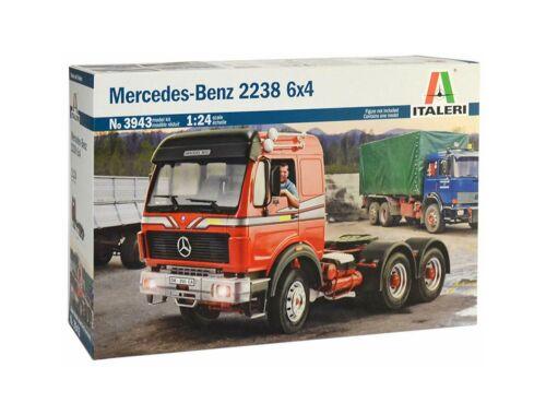 Italeri Mercedes-Benz 2238 6X4 1:24 (3943)