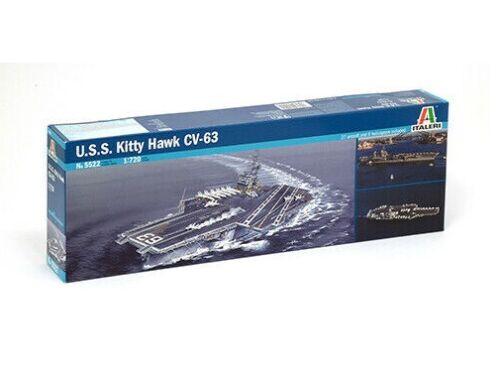 Italeri USS Kitty Hawk CV-63 1:720 (5522)