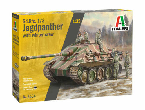 Italeri Sd.Kfz. 173 Jagdpanther with Crew 1:35 (6564)