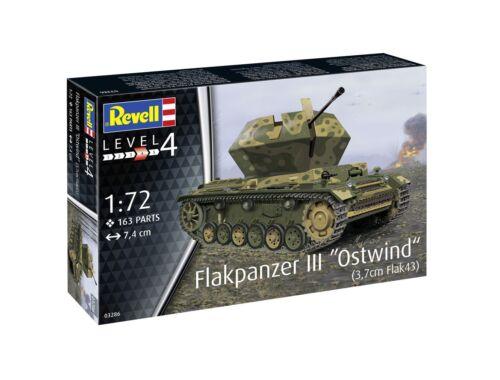 Revell Flakpanzer III Ostwind 3,7cm Fl 1:72 (3286)