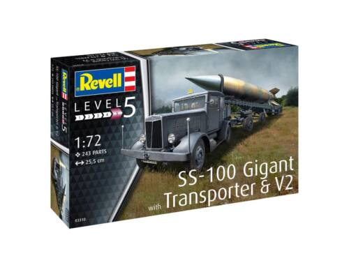 Revell SS-100 Gigant   Transporter   V2 1:72 (3310)