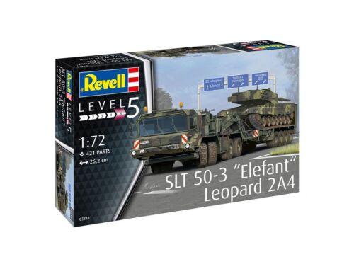 """Revell SLT 50-3 """"Elefant""""   Leopard 2A4 1:72 (3311)"""