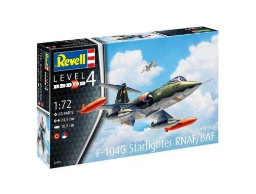 Revell F-104 G Starfighter NL/B 1:72 (3879)