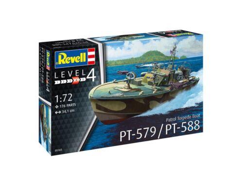 Revell Patrol Torpedo Boat PT-588/PT-579 (late) 1:72 (5165)