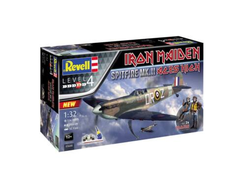 Revell Gift Set Spitfire Mk.V Iron Maiden 1:32 (5688)