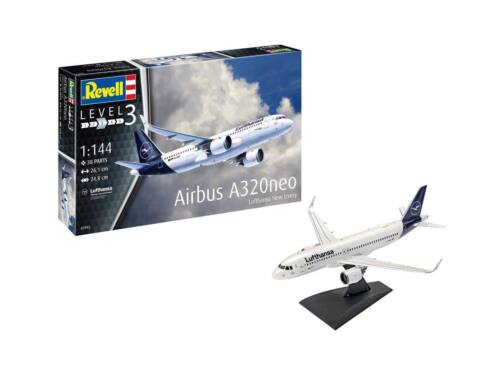 "Revell Gift Set Airbus A320 Neo ""Lufthansa"" 1:144 (63942)"