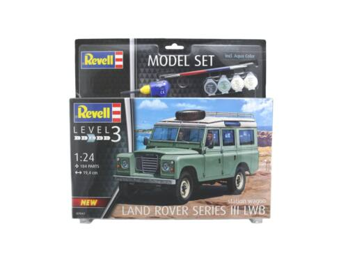 Revell Gift Set Land Rover Series III 1:24 (67047)