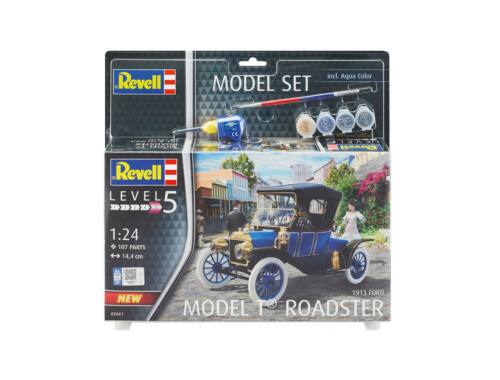 Revell Gift Set Ford T Modell Roadster 1913 1:24 (67661)