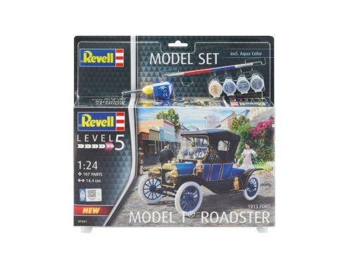 Revell Gift Set Ford T Modell Roadster 1913 1:24 (67661)