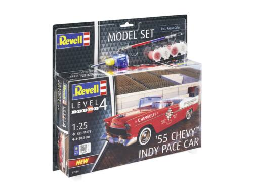 Revell Gift Set 55 Chevy Indy Pace Car 1:25 (67686)