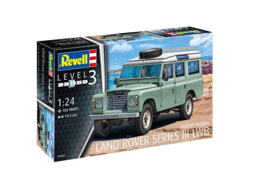 Revell Land Rover Series III 1:24 (7047)