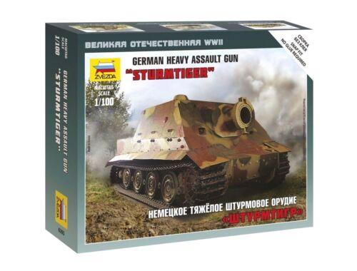 Zvezda Sturmtiger Heavy Assault Gun 1:100 (6205)