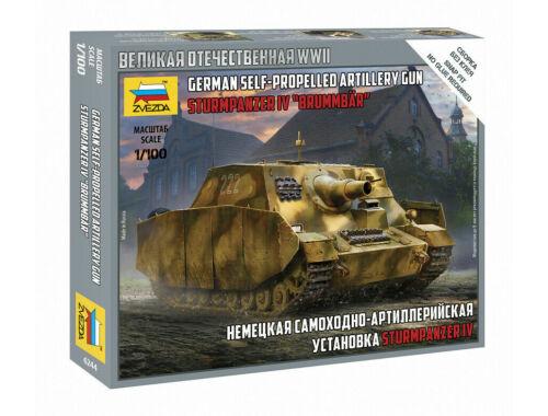 Zvezda Sturmpanzer IV Brummbar 1:100 (6244)