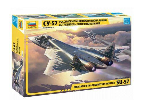 Zvezda Sukhoi SU-57 Russian Fighter 1:72 (7319)