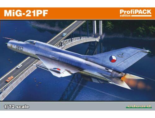 Eduard MiG-21PF Profipack 1:72 (70143)
