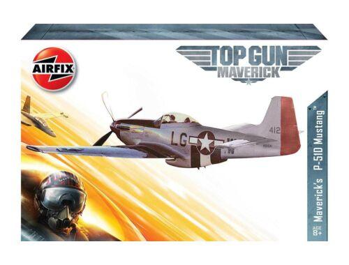Airfix Top Gun Maverick's P-51D Mustang 1:72 (A00505)
