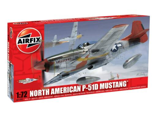 Airfix North American P-51D Mustang 1:72 (A01004)