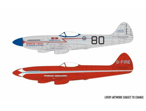 Airfix Supermarine Spitfire MkXIV Race Schemes 1:48 (A05139)