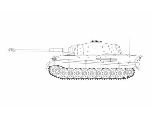 Airfix King Tiger 1:35 (A1369)